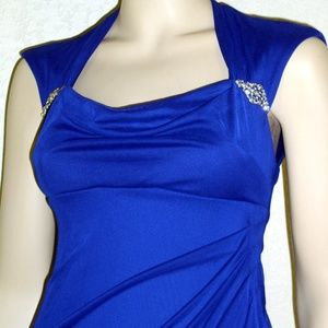 Xscape Dresses - Xscape NWT Sleeveless Ruched Back Long Formal